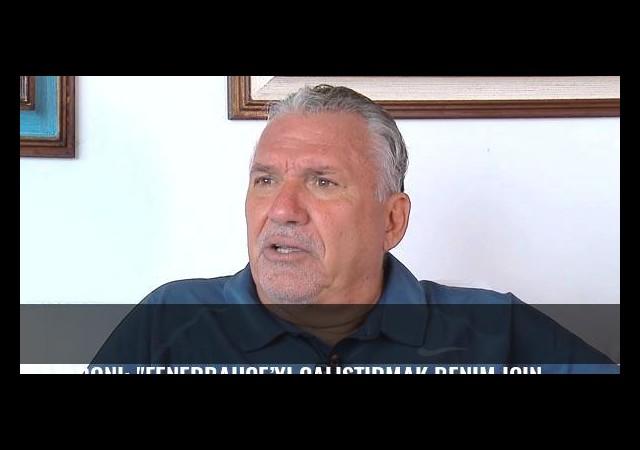 Lazaroni: 'Fenerbahçe'yi çalıştırmak benim için onurdu'