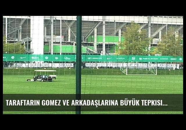 Taraftarın Gomez ve arkadaşlarına büyük tepkisi