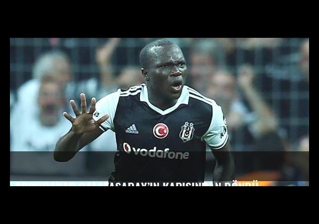 Aboubakar Galatasaray'ın kapısından döndü