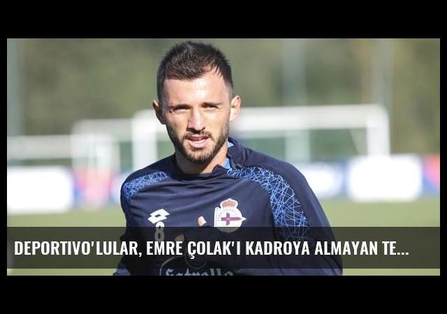 Deportivo'lular, Emre Çolak'ı Kadroya Almayan Teknik Direktöre Tepki Gösterdi