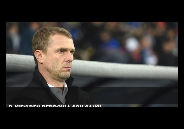 D.Kiev'den Rebrov'a son şans!
