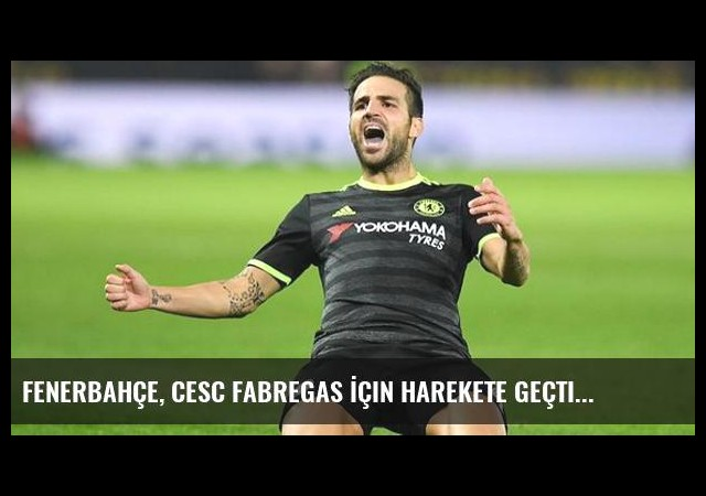 Fenerbahçe, Cesc Fabregas İçin Harekete Geçti