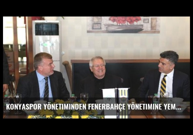 Konyaspor Yönetiminden Fenerbahçe Yönetimine Yemek