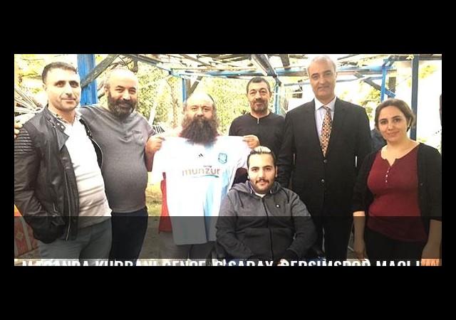 Maganda kurbanı gence, G.Saray-Dersimspor maçı için davet