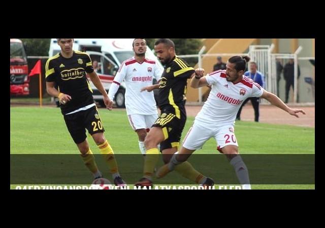 24Erzincanspor, Yeni Malatyaspor'u eledi