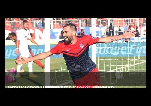 Antalyaspor'un transfer yasağı kalkıyor