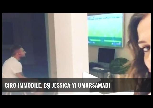 Ciro Immobile, eşi Jessica'yı umursamadı