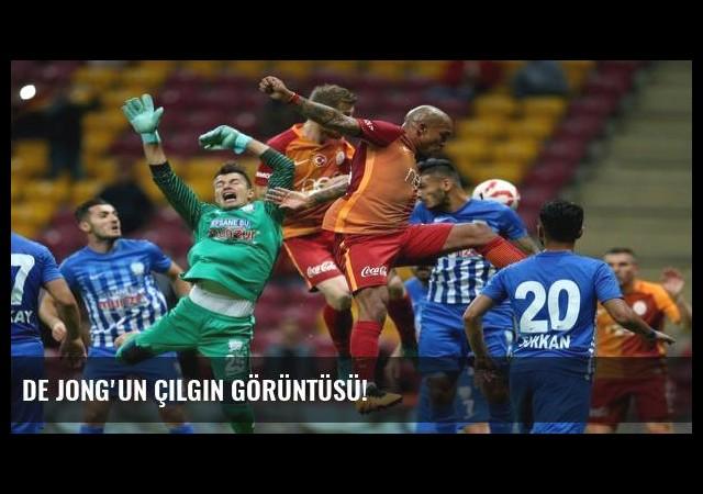 De Jong'un çılgın görüntüsü!