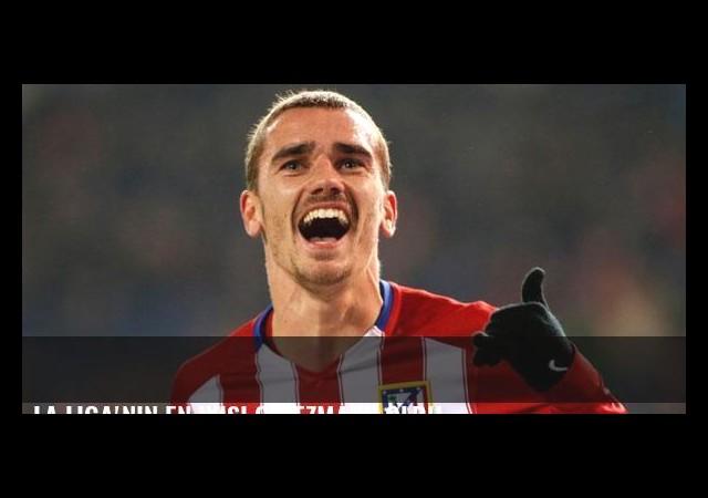 La Liga'nın en iyisi Griezmann oldu