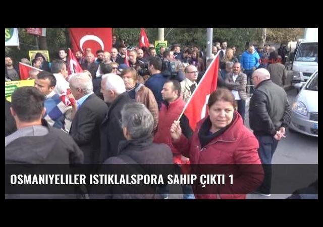 Osmaniyeliler Istiklalspora Sahip Çıktı 1