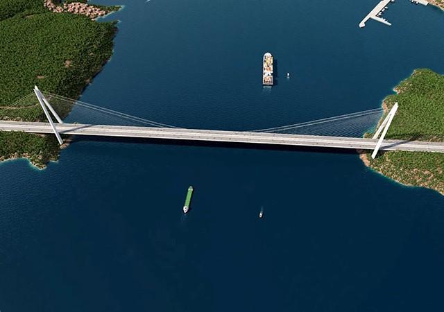 Çanakkale 1915 Köprüsü'nün geçiş ücreti belli oldu