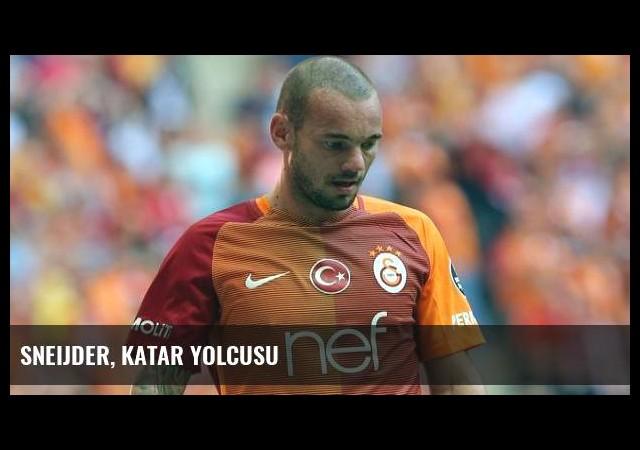 Sneijder, Katar yolcusu