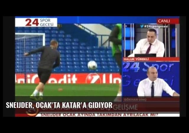 Sneijder, Ocak'ta Katar'a Gidiyor