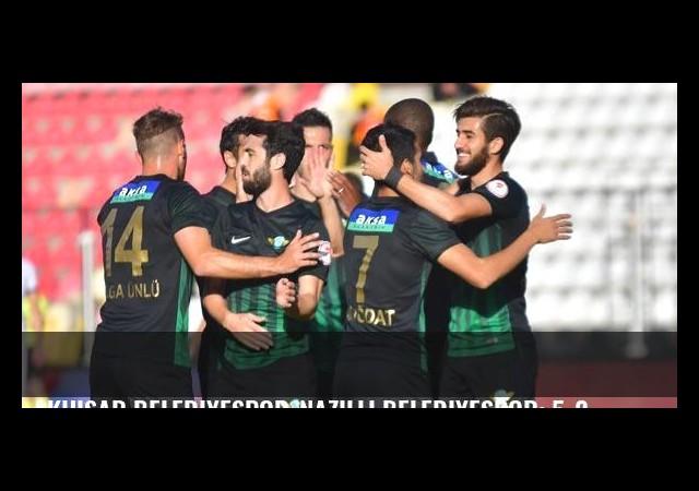 Akhisar Belediyespor-Nazilli Belediyespor: 5-2
