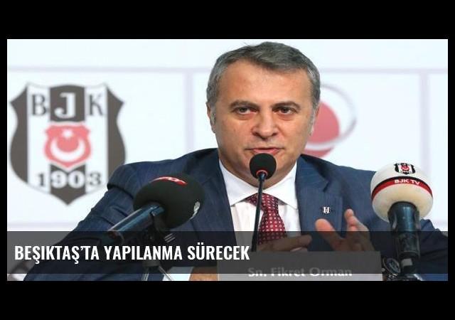 Beşiktaş'ta yapılanma sürecek