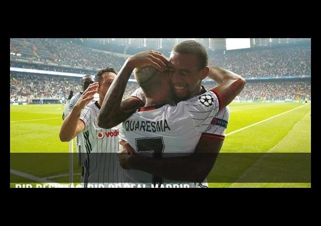 Bir Beşiktaş, bir de Real Madrid