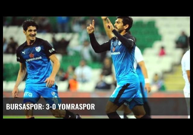 Bursaspor: 3-0 Yomraspor