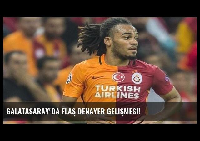 Galatasaray'da flaş Denayer gelişmesi!