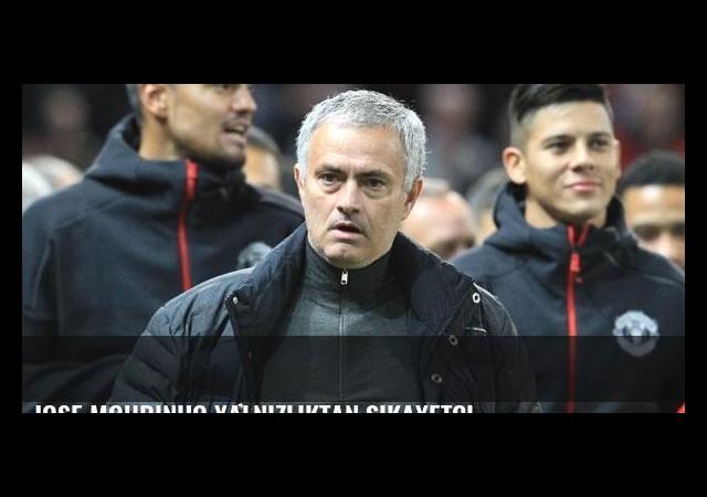 Jose Mourinho yalnızlıktan şikayetçi