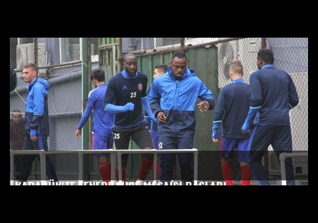 Karabük'te Fenerbahçe mesaisi başladı