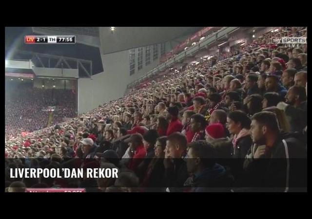 Liverpool'dan rekor