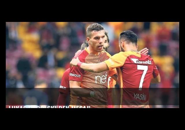 Lukas Podolski'den mesaj!