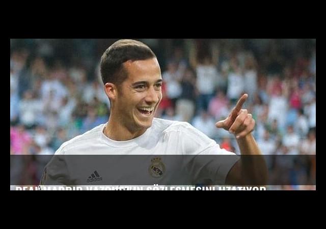 Real Madrid Vazquez'in sözleşmesini uzatıyor