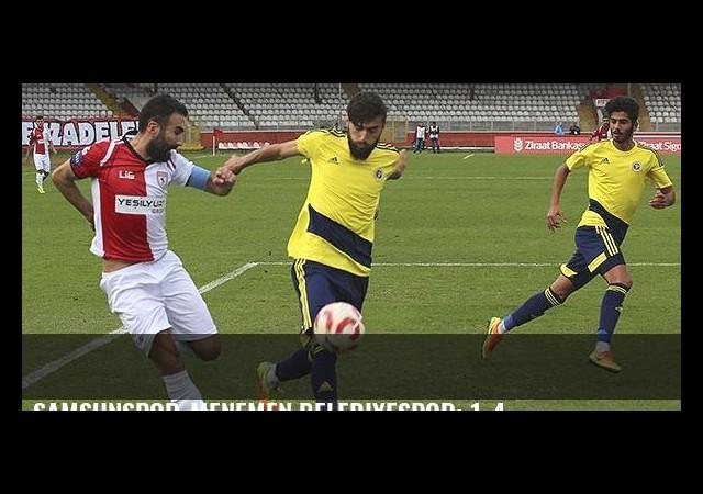 Samsunspor-Menemen Belediyespor: 1-4