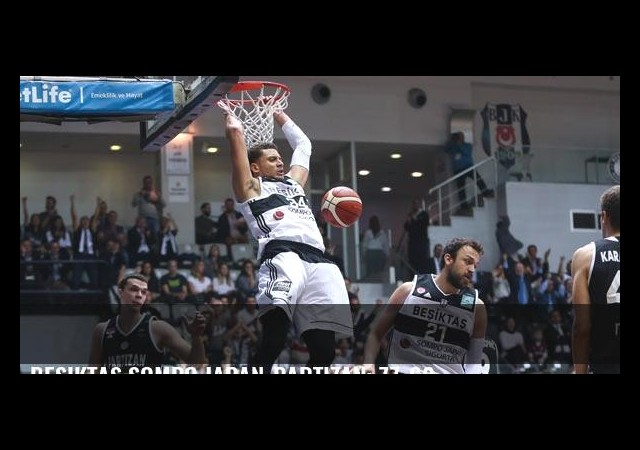 Beşiktaş Sompo Japan-Partizan: 77-62