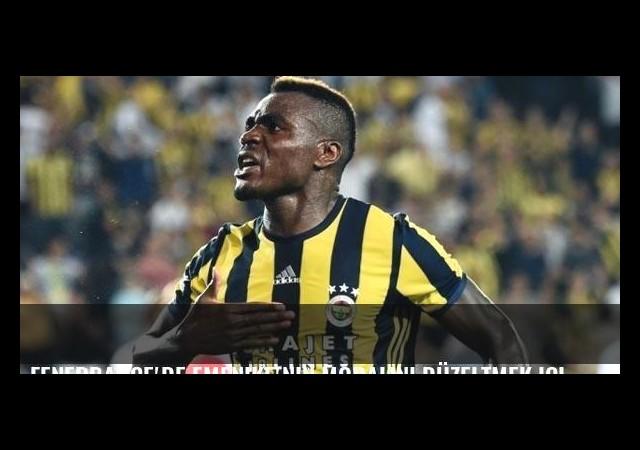 Fenerbahçe'de Emenike'nin moralini düzeltmek için yoğun çaba harcandı