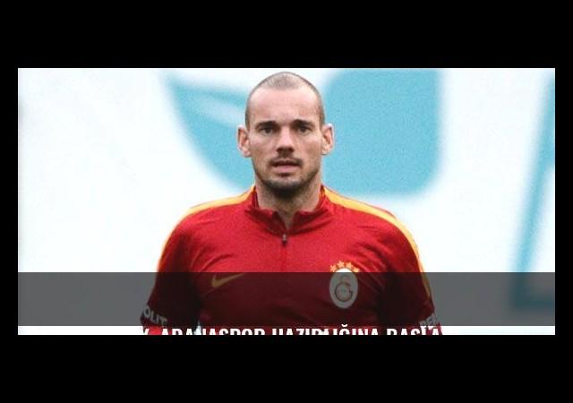 Galatasaray, Adanaspor hazırlığına başladı