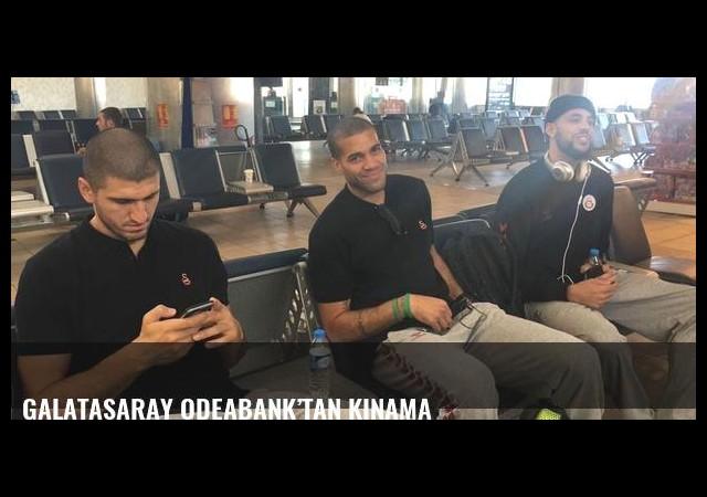 Galatasaray Odeabank'tan kınama