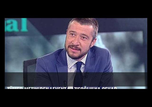 Tümer Metin'den Levent Nazifoğlu'na cevap