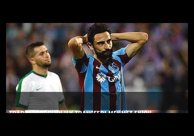 Trabzonspor'un ilk transferi Mehmet Ekici!