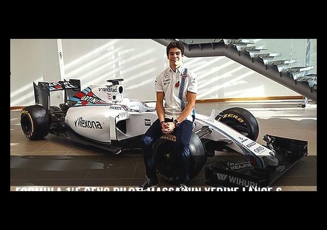 Formula 1'e genç pilot! Massa'nın yerine Lance Stroll...