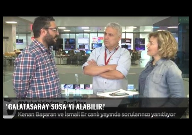 'Galatasaray Sosa'yı alabilir!'