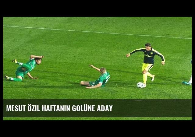 Mesut Özil haftanın golüne aday