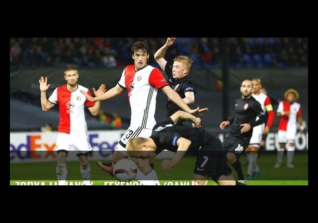 Zorya Luhansk - Feyenoord (Canlı)