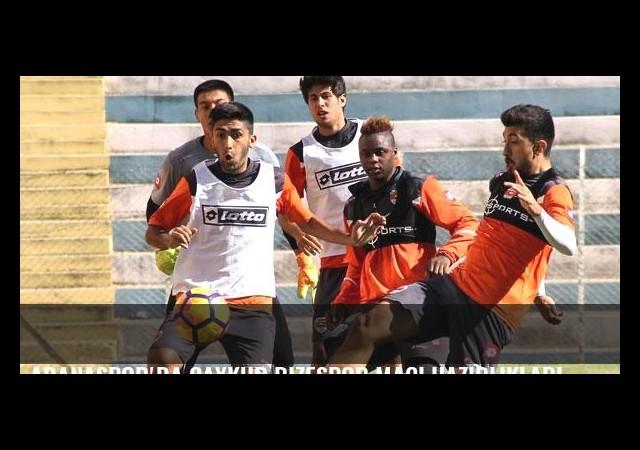 Adanaspor'da Çaykur Rizespor maçı hazırlıkları