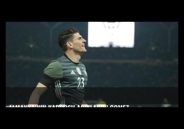 Almanya'nın kadrosu açıklandı! Gomez...