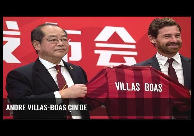 Andre Villas-Boas Çin'de