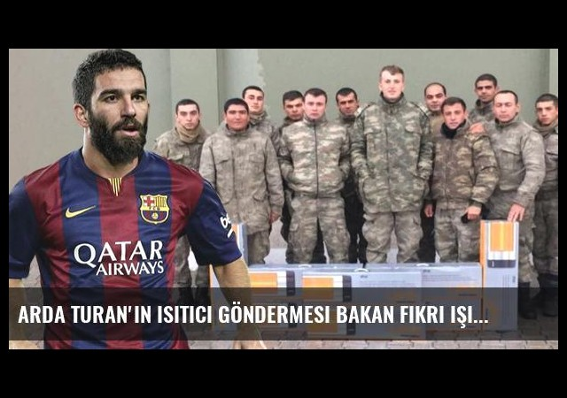 Arda Turan'ın Isıtıcı Göndermesi Bakan Fikri Işık'ı Kızdırdı