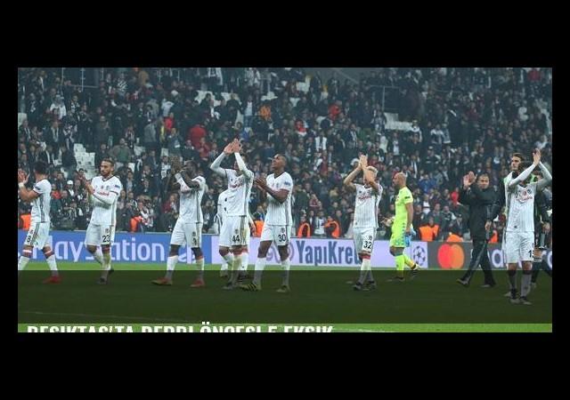 Beşiktaş'ta derbi öncesi 5 eksik