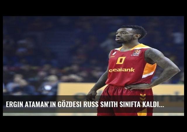 Ergin Ataman'ın Gözdesi Russ Smith Sınıfta Kaldı
