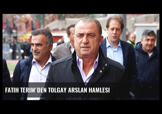 Fatih Terim'den Tolgay Arslan hamlesi