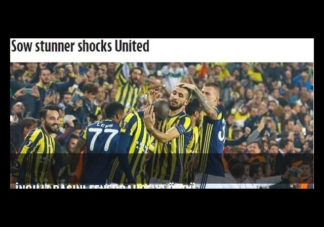 İngiliz basını Fenerbahçe'yi övdü