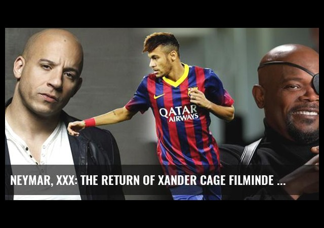 Neymar, xXx: The Return of Xander Cage Filminde Oynayacak