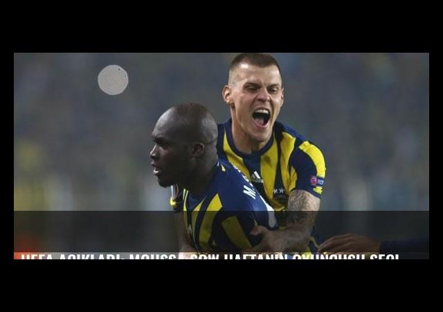 UEFA açıkladı: Moussa Sow haftanın oyuncusu seçildi