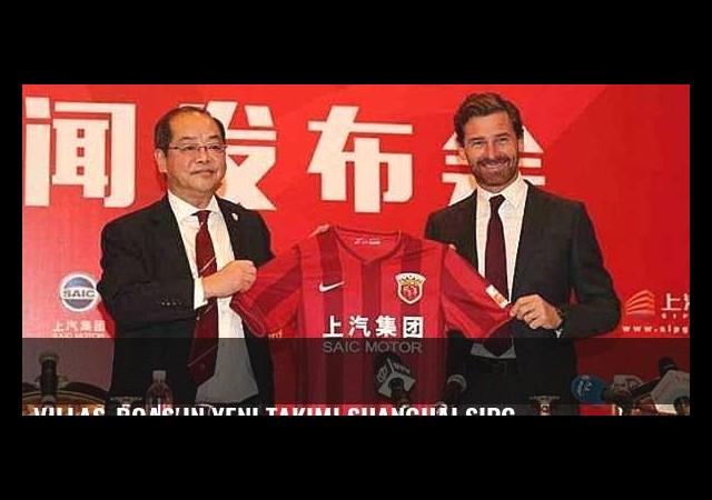 Villas-Boas'ın yeni takımı Shanghai SIPG