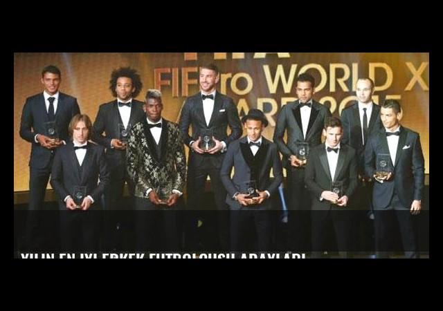 Yılın en iyi erkek futbolcusu adayları